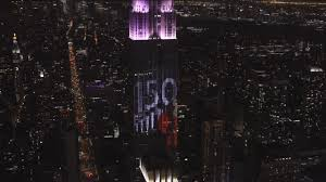 empire state building lights tonight the empire state building lit up with rainbow colors in honor of new