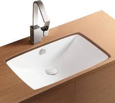 designer bathroom sink rectangular white ceramic undermount bathroom sink contemporary