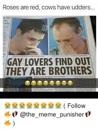 Memes For Lovers - 25 best memes about gay lovers find out they are brothers gay
