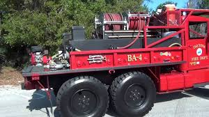 homemade tactical vehicles daytona beach fire rescue brush truck ex army truck youtube