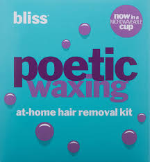 amazon com bliss poetic microwaveable waxing kit stripless at