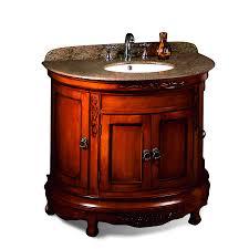 ove decors victoria light cherry undermount single sink birch