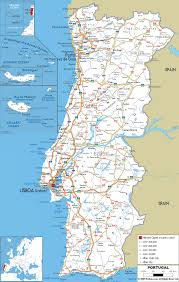 Map Of Spain With Cities by Portugal Roads Maps Pinterest Portugal Road Routes And Spain