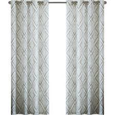 Moroccan Print Curtains Modern Geometric Curtains Drapes Allmodern