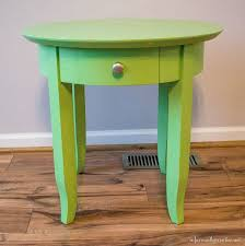 Green Accent Table Personalized Rose Accent Table Infarrantly Creative
