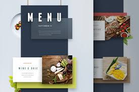 Menu Presentation Template menu and presentation ui website templates creative market