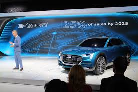 audi car audi tells its dealers to get with the electric car program