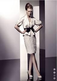 Mature Wedding Dresses Knee Length Satin Lace Strapless Informal Wedding Dress On Sale