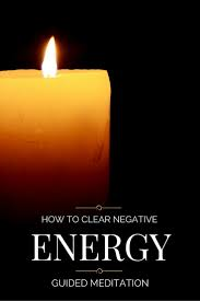 how to clear negative energy away