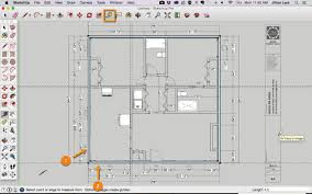 app to draw floor plans draw a floor plan in sketchup from a pdf tutorial