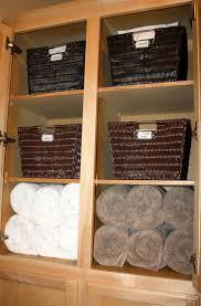 linen closet organization bins home design ideas