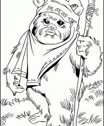 free lego star wars coloring pages printable ewok1 ewok starwars coloring pages from 101coloringpages com