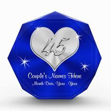 45th wedding anniversary personalized 45th wedding anniversary gifts zazzle