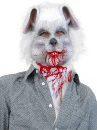 bloody bunny mask horror masks hats wigs u0026 masks