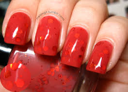 different reds the different reds all together nails rockin