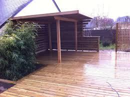cuisine d été couverte aménagement extérieur bois à cholet aux herbiers et beaupréau en