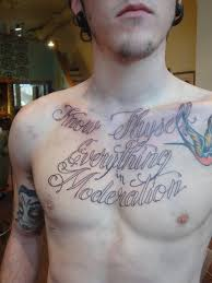 quotes chest tattoos for men 2 tattoos blog tattoos blog