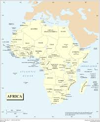 Africa Map Rivers Africa Map Rivers Africa Map With Rivers Africa Mountains Map Bing