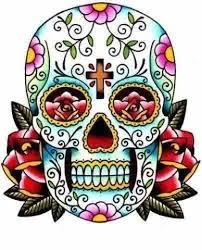 girly skull designs stencils girly skull
