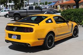 2013 Ford Mustang Black Photo Gallery 2013 Ford Mustang Boss 302 In Bus Yellow
