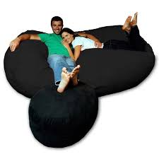 soft memory foam micro suede beanbag chair lounger ping big s on bean lounge bags