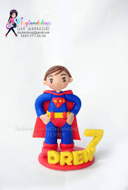 superman cake toppers 54 best polymer clay cake topper images on cake