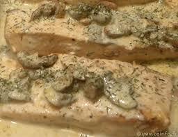 cuisiner pavé saumon pavé de saumon à la crème et ses chignons les poissons en filets