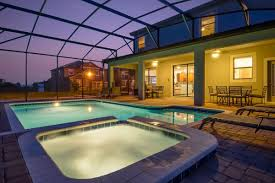 Pool Home by 8 Bedroom Vacation Homes Near Disney With Homes4uu