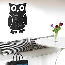 dino blackboard wall sticker dinosaur chalkboard wall decor owl blackboard wall sticker