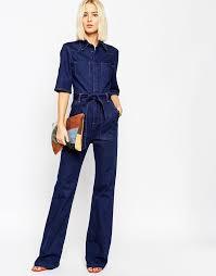 denim jumpsuits for different ways to wear denim jumpsuit yasminfashions