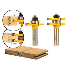Wainscoting Router Bits Joinery Tongue U0026 Groove Matched Shaker Tongue And Groove