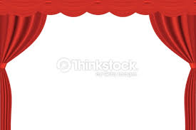 Curtains On A Stage A Red Theater Curtain On A White Background Vector Art Thinkstock