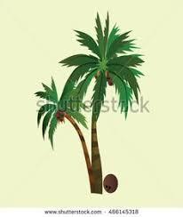 coconut trees design vector 1 vector illustration coconut tree