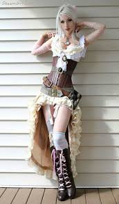 34 state of art steampunk costumes for womens that will intrigue