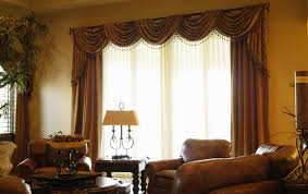 Swag Curtains For Dining Room Delightful Design Valance Curtains For Living Room Interesting