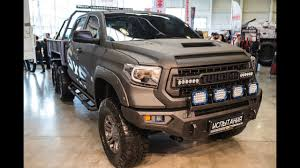 Toyota Tundra 6x6 U0026 Wild Truck Camper Youtube