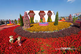 Photos Of Flowers Xinshe Sea Of Flowers Round Taiwan Round