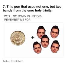 Emo Band Memes - pin by josie dale on mcr pinterest discos