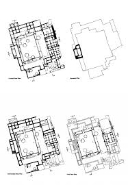 Ground And First Floor Plans by Choona Mandi Haveli Conservation Aζ South Asia