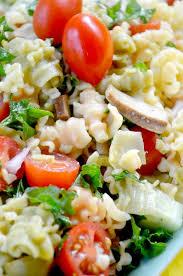 gluten free veggie pasta salad