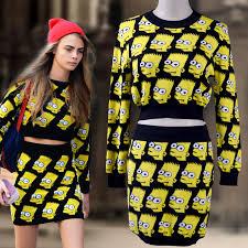 bart sweater free shipping gd knitted cotton winter skirt sets bart