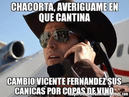 Vicente Fernandez Memes - chacorta averiguame en que cantina cambio vicente fernandez sus
