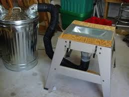 table saw dust collector bag shop improvements 3 ryobi bts15 tablesaw mods by wolflrv