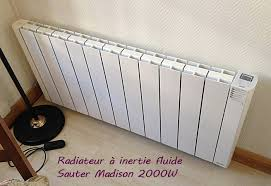 inertie seche ou fluide chambre top marque radiateur a inertie