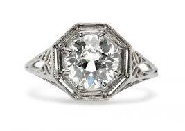 platinum vintage rings images Engagement rings jpg