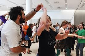 flurry of activity festival provides lots of dancing music the