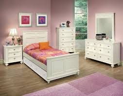 white teenage bedroom ideas cone table lamp shade purple