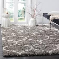 Square Area Rugs 10 X 10 Safavieh Hudson Shag Modern Ogee Grey Ivory Rug 8 U0027 X 10 U0027 Free