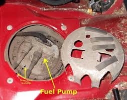 how to replace fuel pump volvo s40 and v40 1996 to 2004