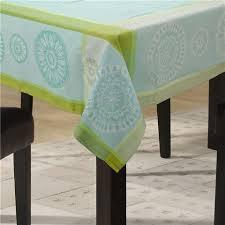 Aqua Table L L Ensoleillade Valdrome Aqua Treated Tablecloth 200x160cm
